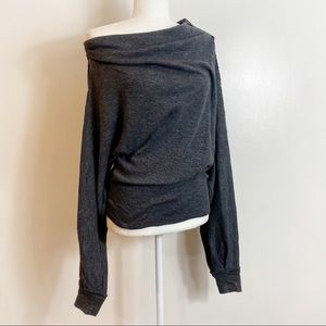 Free People Baggy Boho Style Sweater